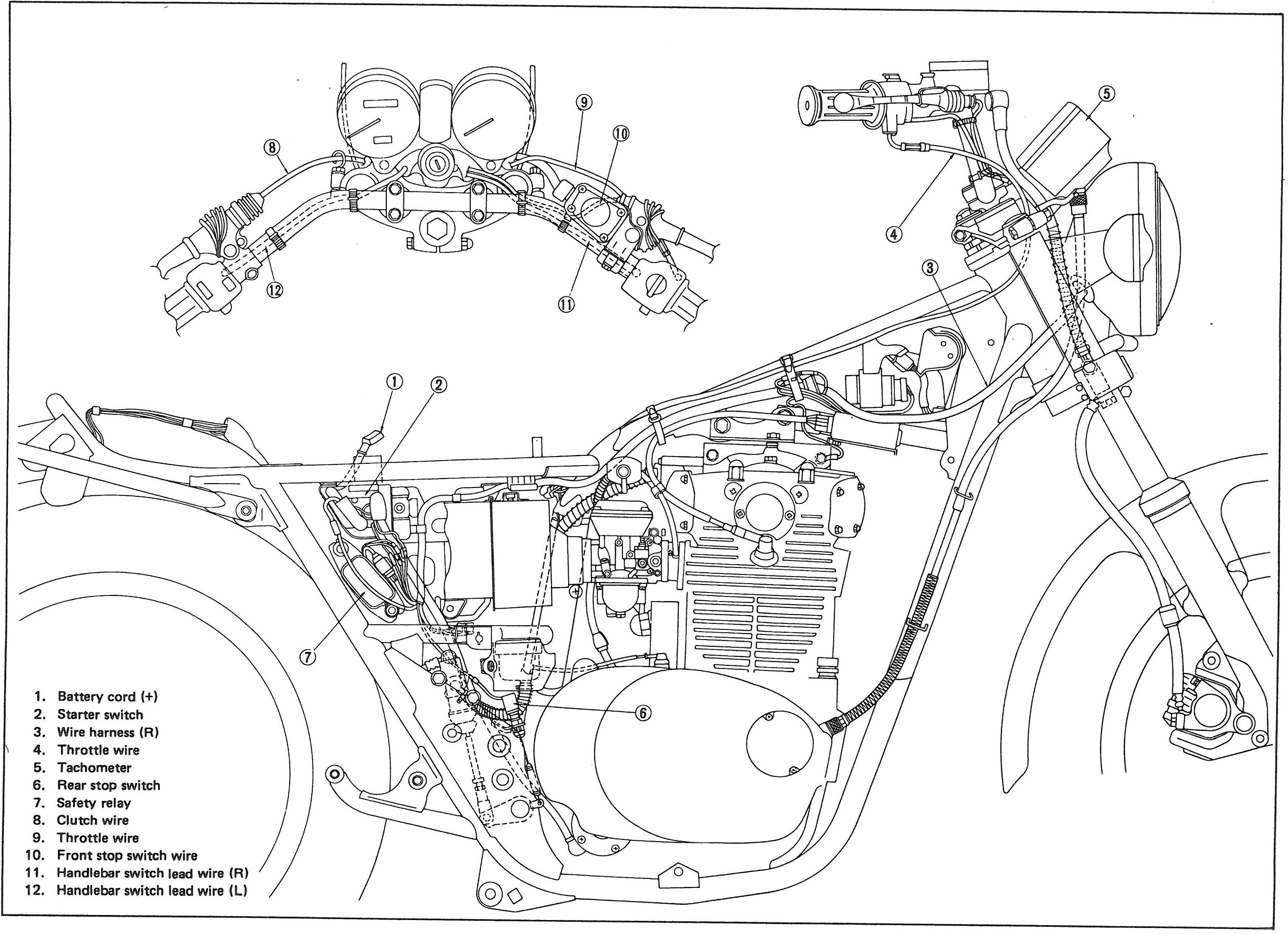 Xs650 Wiring Diagram With Points | Wiring Library