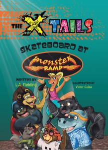The X-tails Skateboard at Monster Ramp