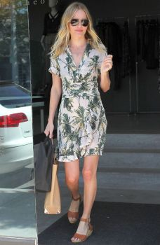 Kate Bosworth Palm Tree Print The Xtyle