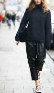TREND_INSPIRATION_LEATHER_BAGGY_SWEATPANTS_THEXTYLE_ SS-2014_CELINE_SKATERS