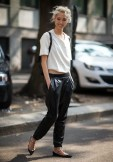TREND_INSPIRATION_LEATHER_BAGGY_SWEATPANTS_THEXTYLE_ SS-2014_LOOSE_BLOGGER
