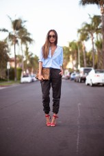 TREND_INSPIRATION_LEATHER_BAGGY_SWEATPANTS_THEXTYLE_ SS-2014_SONGOFSTYLE_STREETSTYLE