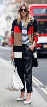 TREND_INSPIRATION_LEATHER_BAGGY_SWEATPANTS_THEXTYLE_ SS-2014_STREETSTYLE_STRIPES