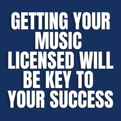 Getting your music licensed