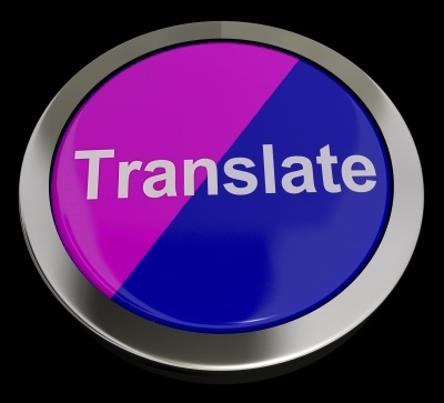Translate Button © Stuart Miles  freedigitalphotos.net