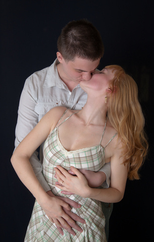 Sexy Kiss © Dmitry Maslov | Dreamstime.com