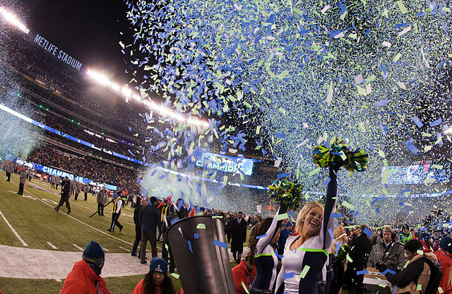 Seahawks win Super Bowl XLVIII © Anthony Quintano | Wikimedia Commons