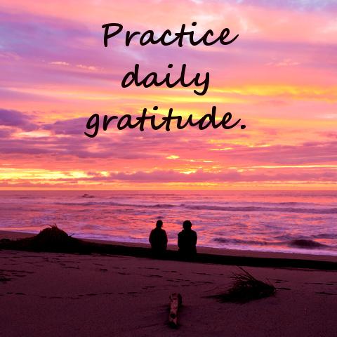 Practice daily gratitude © Pilens | Dreamstime.com
