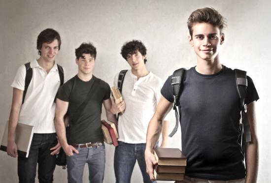 Group of teenage boys © olly | dollarphotoclub.com