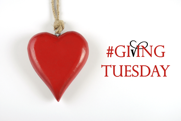 Giving Tuesday philanthropy after Black Friday shopping message