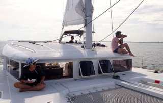Yacht charter your day away and snap away