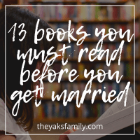 13 BOOKS YOU MUST READ BEFORE YOU GET MARRIED| THE YAKS FAMILY BLOG