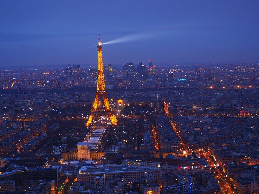 Panorama Paryża Montparnasse
