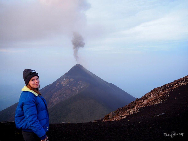 wulkan Acatenango