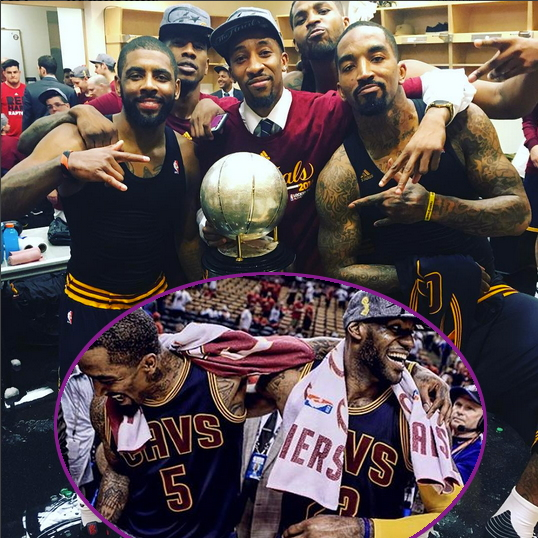 LeBron James Makes History As Cavs Are Crowned Eastern