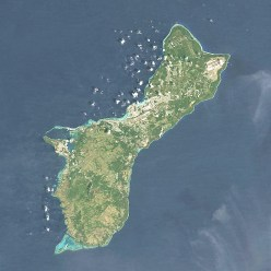 USA_Guam_satellite_image_location_map