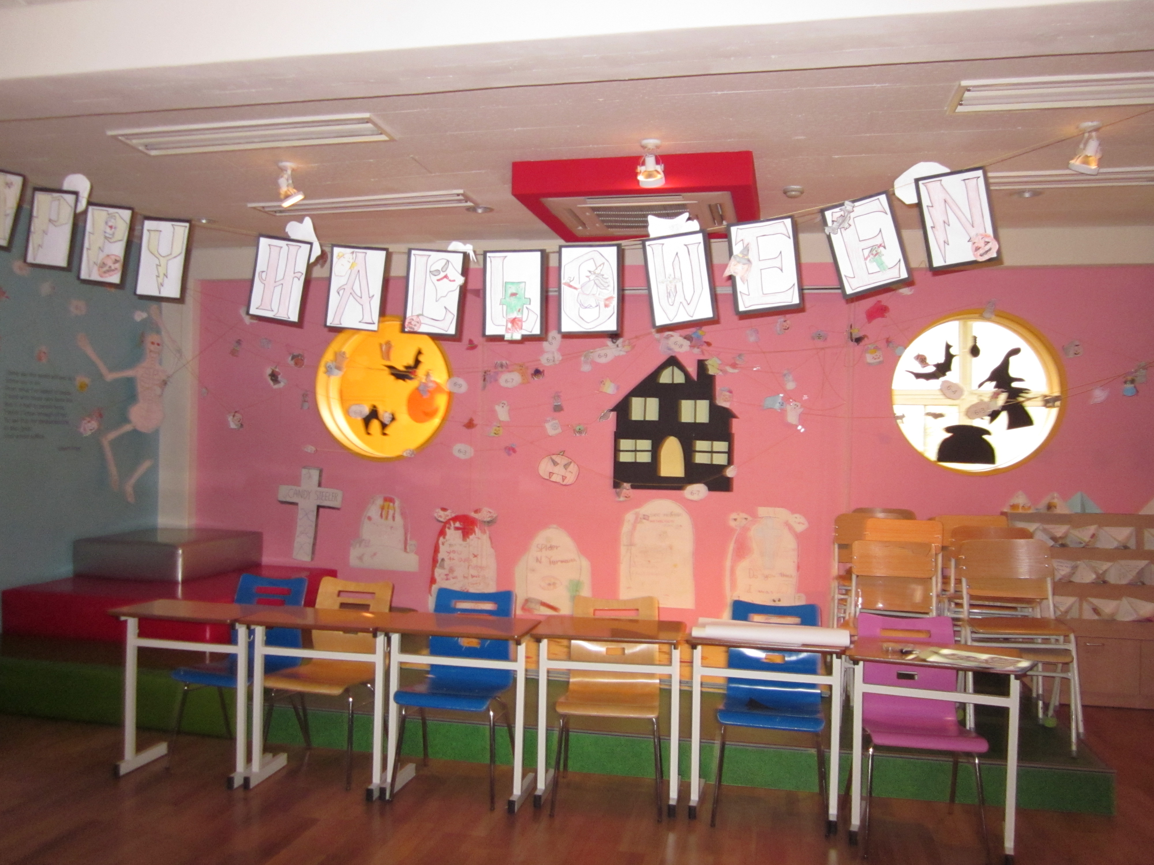 Halloween In The Classroom A Seoulful Year