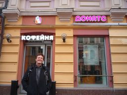 We found a tasty establishment that Garrison felt the need to try out in Moscow. Can you name this tasty establishment?