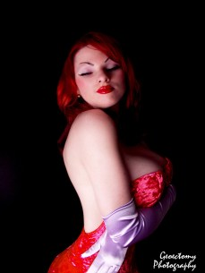 kbx gorgeous jessica rabbit cosplay by geoectomy photography