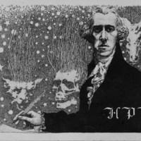 """""""Yule Horror"""" by HP Lovecraft"""
