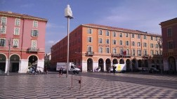 More buildings off the Place Massena.