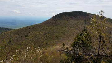 View looking East to Blackhead from Descent of Black Dome
