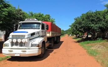 Camión camino