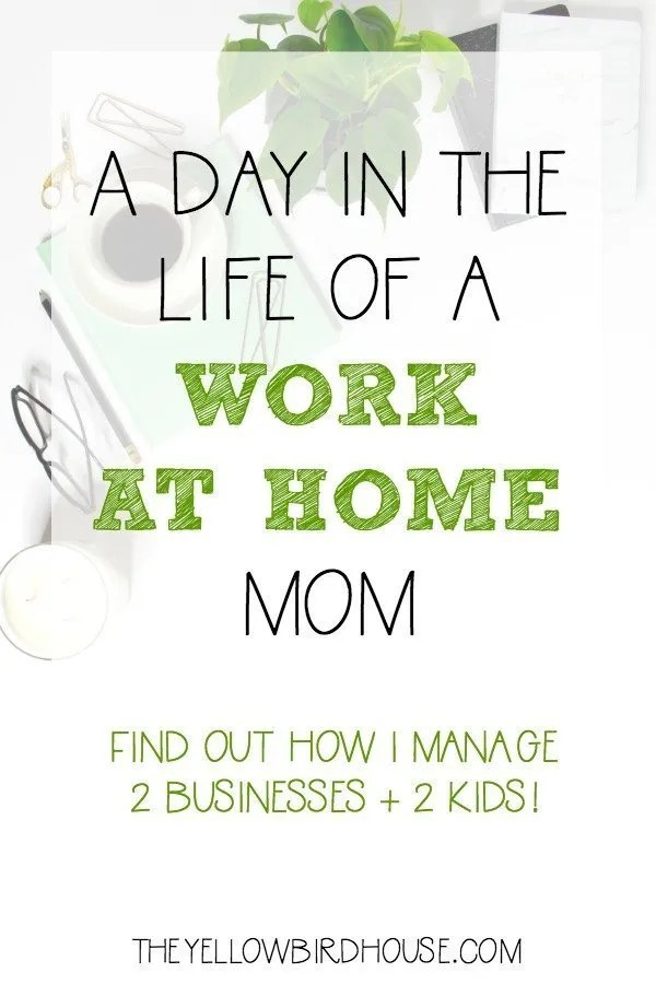 How I manage a home, family and 2 businesses without losing my mind!