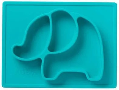 Segmented Elephant Plate perfect for kid's meals!