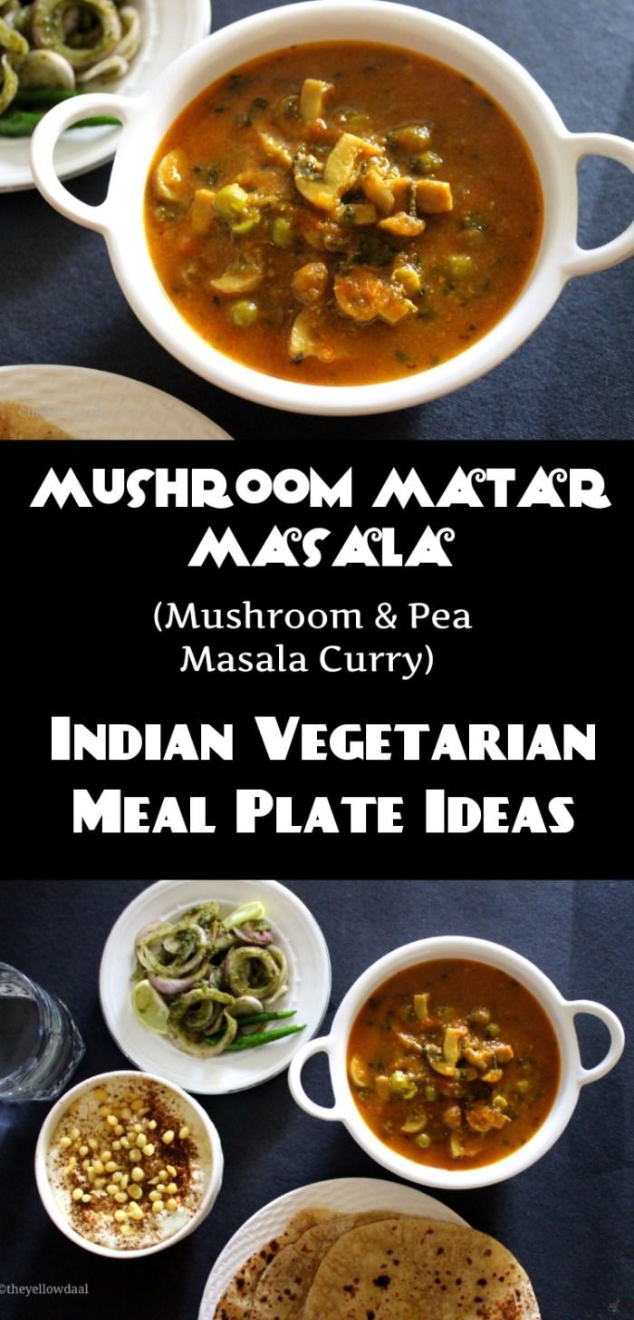 mushroom-matar-masala