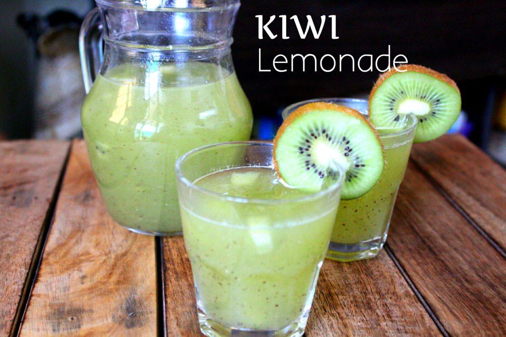 Kiwi-lemonade
