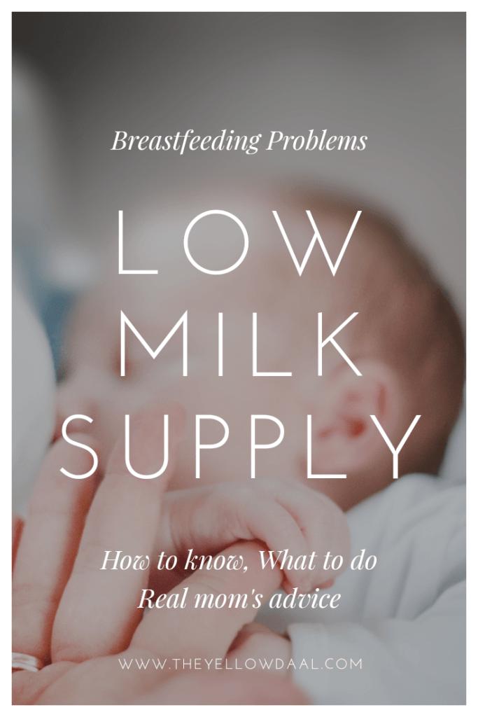 Low-milk-supply-pin