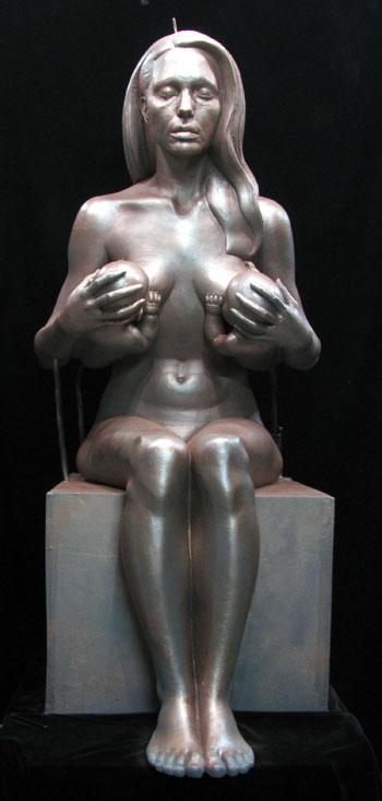 angelina jolie statue