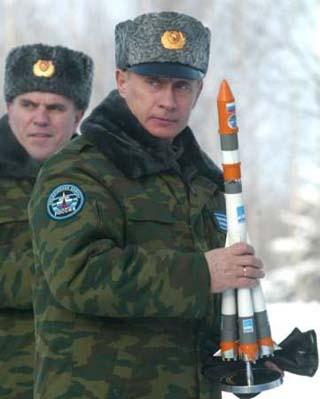 vladimir putin missile