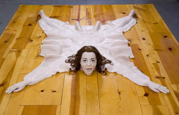 tapis femme trophée