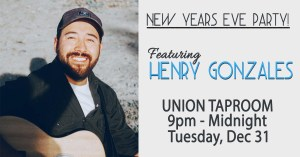 New Year's Eve Party at the Union Taproom