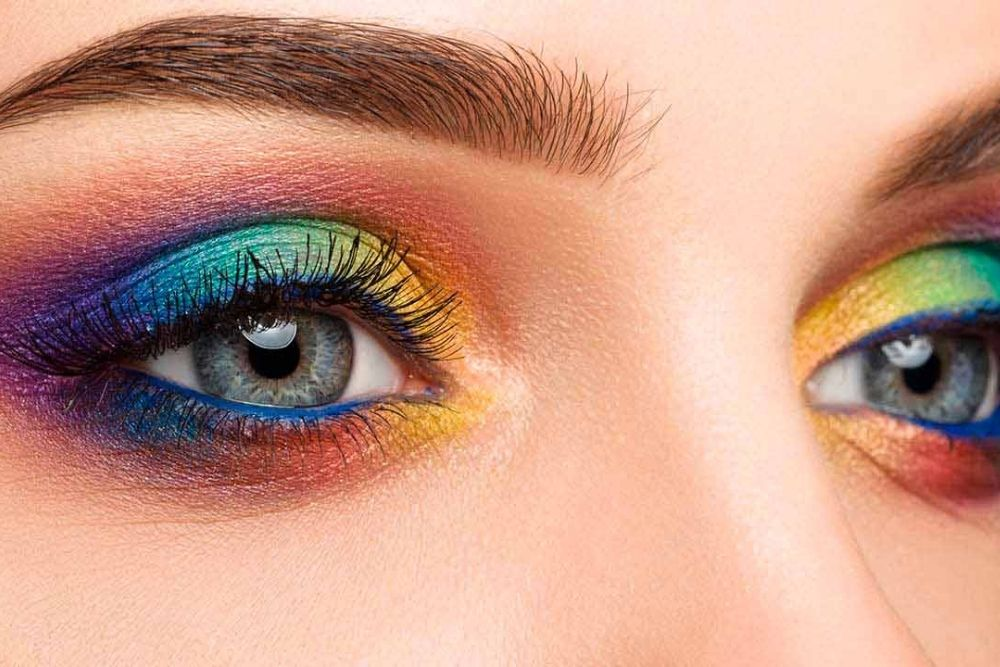 is makeup bad for the eyes