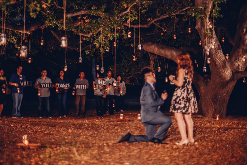 Who To Tell When You're Going To Propose