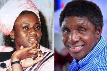 Bongos Ikwue and Maryam Babangida
