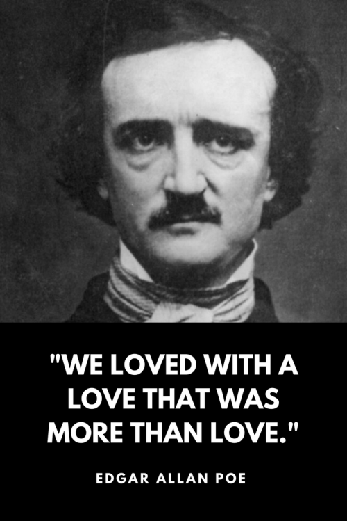 Quote Collection They Love Quotes New Edgar Allan Poe Love Quotes