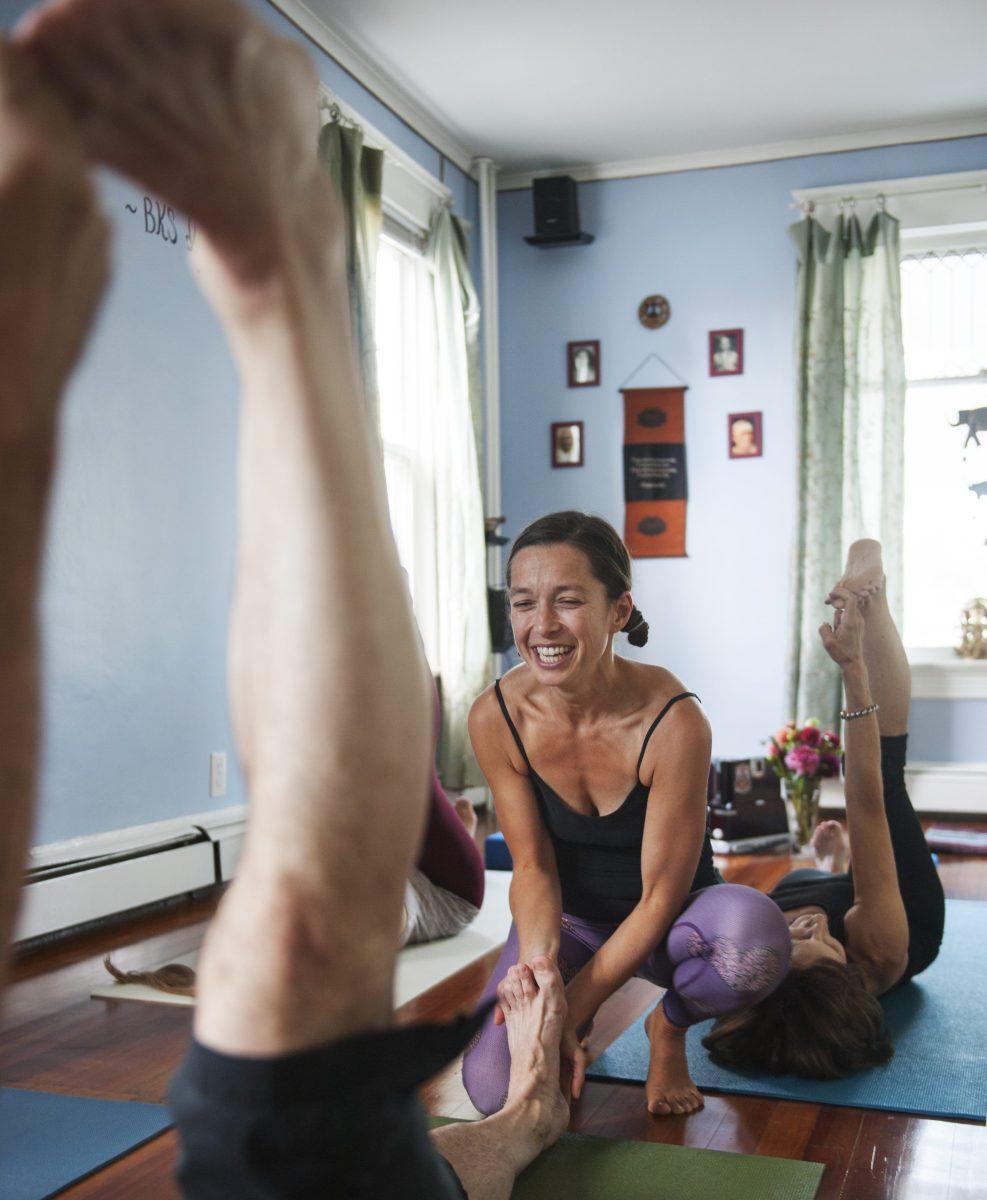 felipa gaudet, yoga