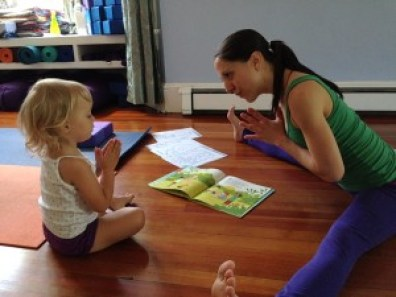 the yoga house, munchkin & me, mel toth, kids yoga, yoga