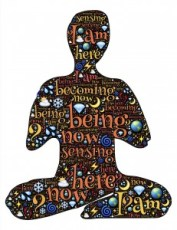 meditation, body, thought, now, present, be