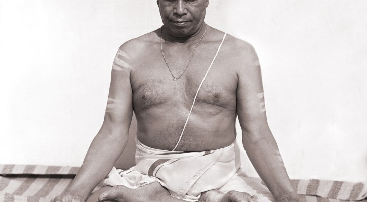 K. Pattabhi Jois, padmasana