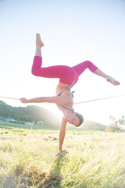 Adi Carter Slackline the yoga house hudson valley kingston ny