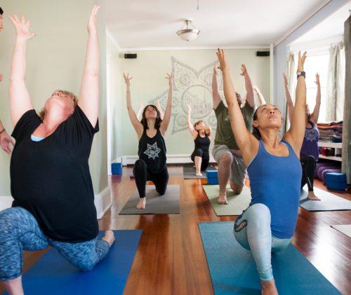 the yoga house, kingston, ny, house flow, open level vinyasa