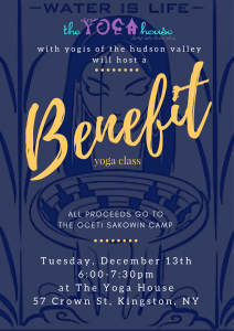 Standing Rock Benefit, The Yoga House