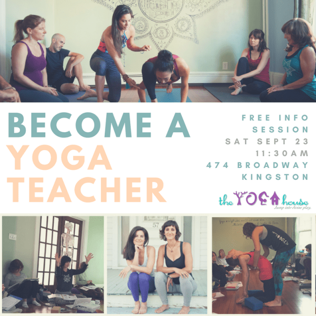 yoga teacher training, hudson valley, ny