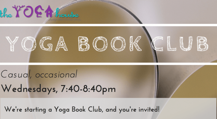 yoga book club, yoga, kingston, ny, hudson valley