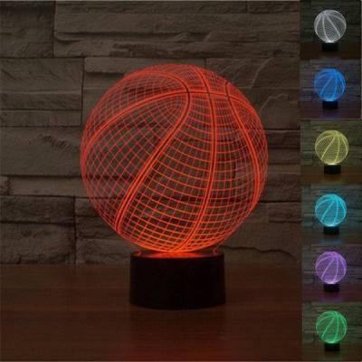 3D Basketball ILLUSION Lamp